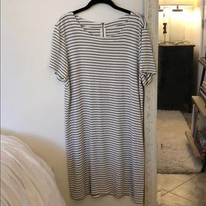 Target Dresses - Black and white striped dress